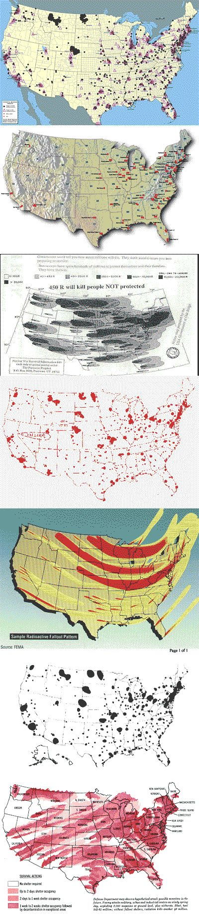 US Nuclear Target Map - general suggestions as 100 % specific is impossible. good blog to read as well.