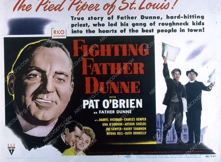 Pat O'Brien film Fighting Father Dunne 35m-2458