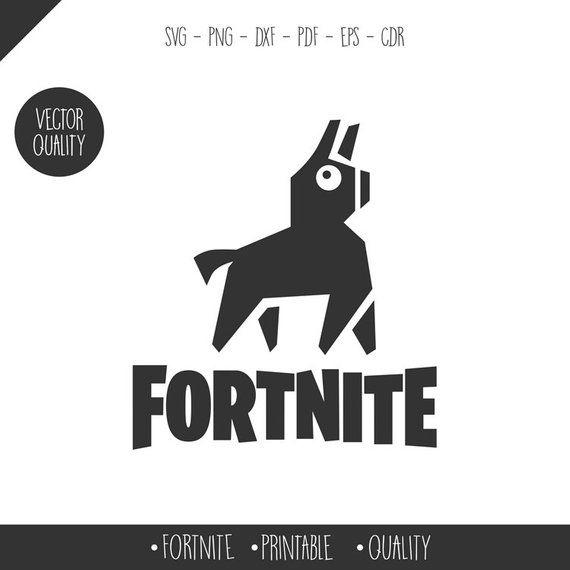 Fortnite Llama SVG, PNG, AI, Editable colors! Llama svg