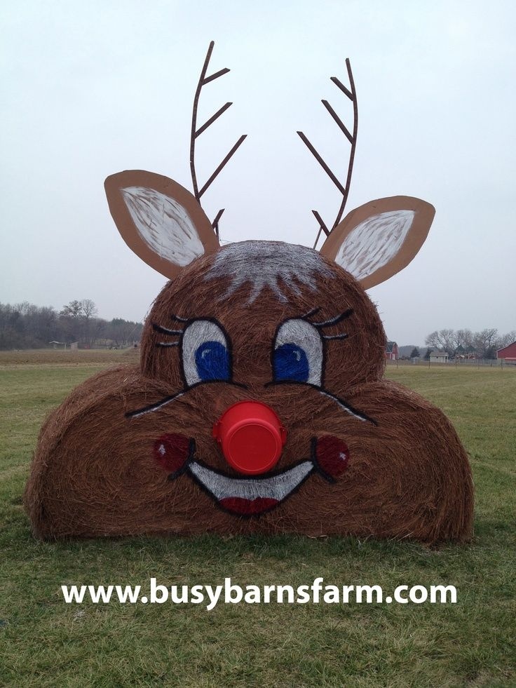 My Style on Pinterest   Hay Bales, Hay Bale Decorations and Tractors