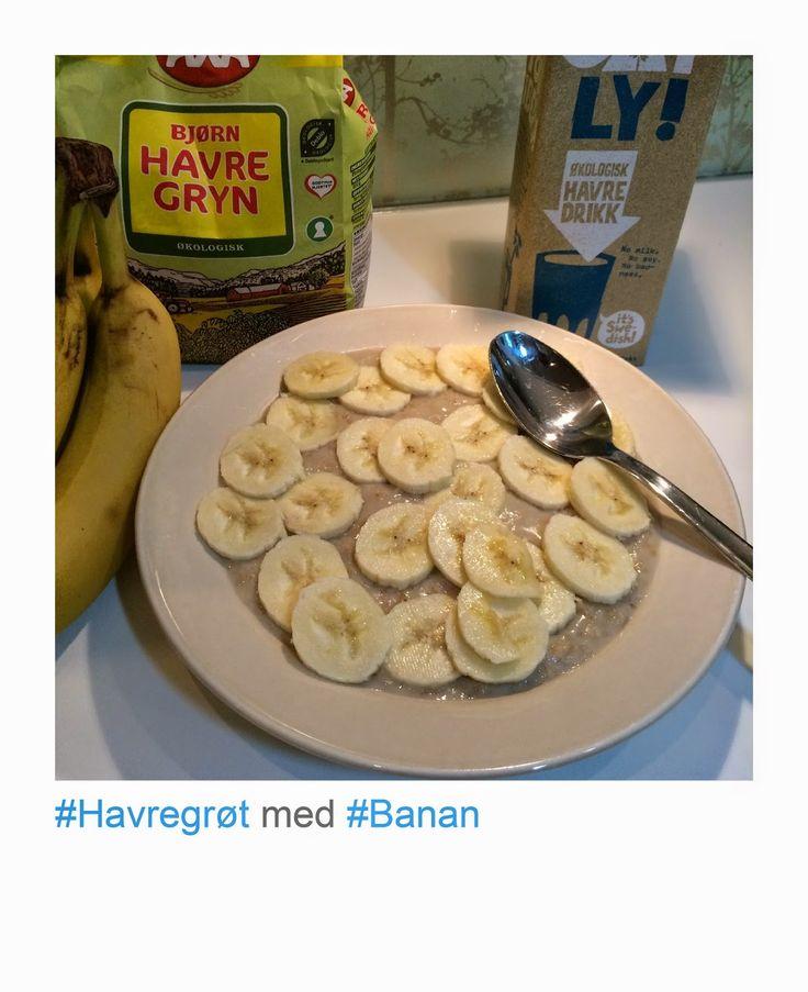 Nutraterapi: Havregrøt med banan