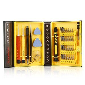 Amazon.com: Floureon 38-piece Precision Screwdriver Set Repair Tool Kit for iPad, iPhone, PC, Watch, Samsung and Other Smartphone Tablet Computer Electronic Devices: Computers & Accessories
