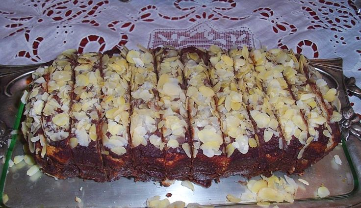 Csokis mandulatorta paleosítva