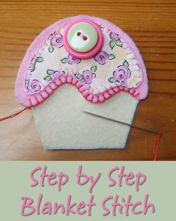 Easy How to do Blanket Stitch Step by Step