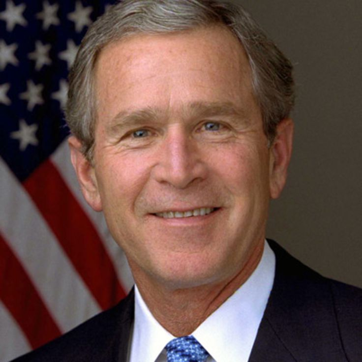George W. Bush was the 43rd president of the United States. He led his country's response to the 9/11 attacks in 2001 and initiated the Iraq War in 2003.