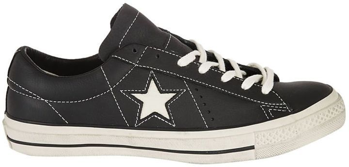 Converse One Star Ox Distressed Sneakers