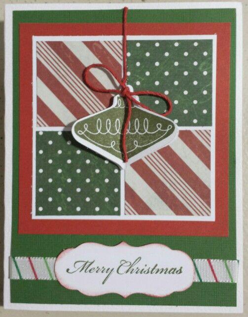 Ornament Christmas Card