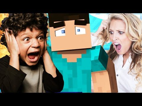 ANGRY KID CURSES AT MOM ON MINECRAFT! (MINECRAFT TROLLING) - YouTube