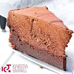 Przepis na ciasto czekoladowe. Deser z czekolady z musem czekoladowym