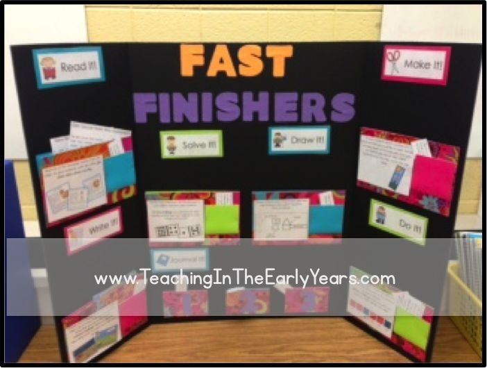 this early finisher board was created by royanna see more unique early finisher boards here poster board ideasposter boardstri fold