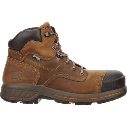 Timberland Men's PRO Helix HD 6 in Work Boots (Beige Or Khaki, Size 9.5) - Lace St Work Boots at Academy Sports
