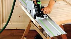 Festool TS 55 REQ Track Saw: Replaces my need for large table saw or panel saw to process full sheet.