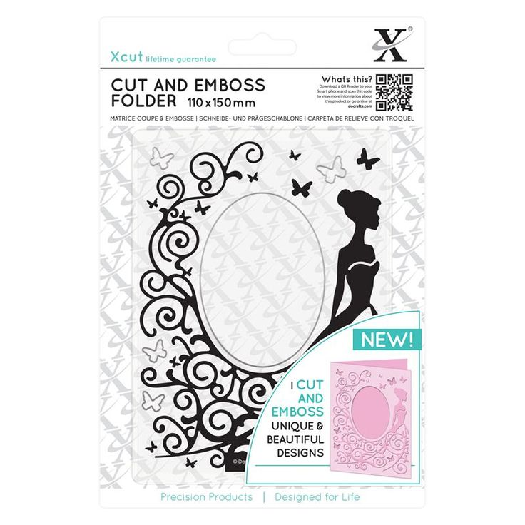110 x 150mm Cut & Emboss Folder - Dress | docrafts.com