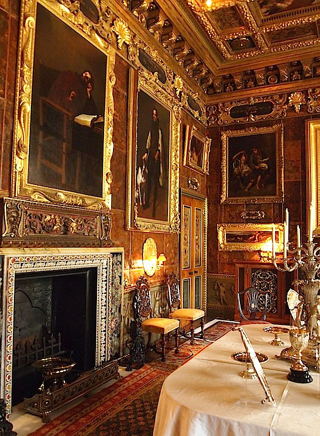 The Spanish Room - Kingston Lacy - Dorset. Colour work was carried out here for the National Trust http://patrickbaty.co.uk/?p=2474