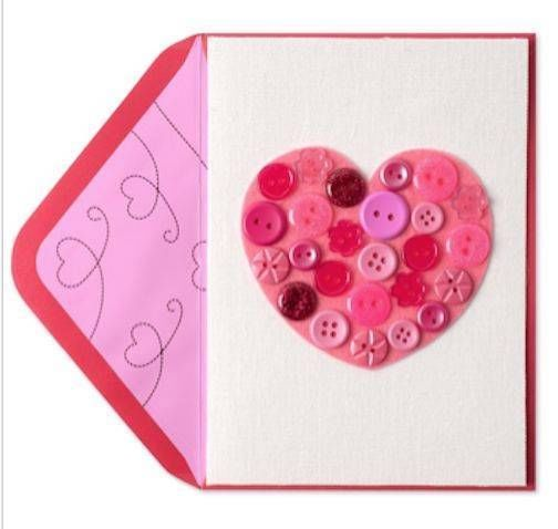 """8 """"Sending Lots of Love to You on Valentine's Day"""" 3D HM PAPYRUS CARDS $64 RTL"""