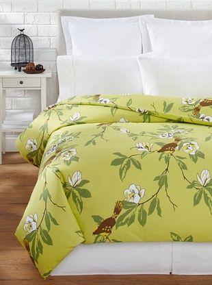 65% OFF Elsie Green Happy Bird Duvet (Green)