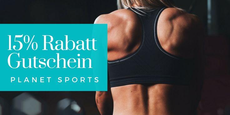 Sportartikel und Sport Mode online kaufen. Gutscheincode für Planet Sports - einlösbar im Onlineshop.