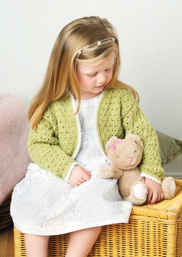 Bolero in Deramores Baby DK (1011) | Deramores Knitting Patterns | Knitting Patterns | Deramores