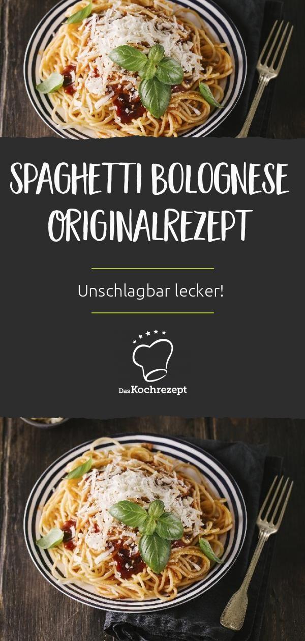 Spaghetti Bolognese Originalrezept
