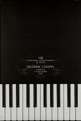 Miedzynarodowy Konkurs Chopinowski 1970, International Chopin Piano Competition 1970, Zelek Bronislaw