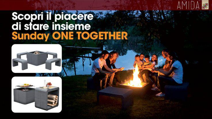 Voglia di un barbecue all'aperto con gli amici? Scopri il nuovo sistema componibile della Sunday! Vieni a trovarci in sede.