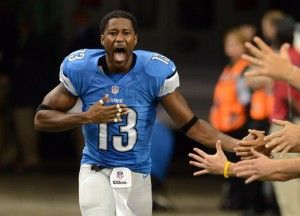 Here's What Nate Burleson's Wrecked SUV Looks Like Because He Tried To Catch A Falling Pizza