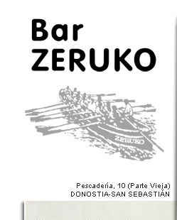 Bar Zeruko, San Sebastian. Nothing beats Zeruko for a visual spectacle and experimentation with ingredients and presentation.