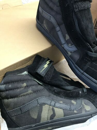9f661d6b2bfeec Details about VANS x THRASHER SK8-Hi PRO Shoes (NEW) Black UltraCUSH ...