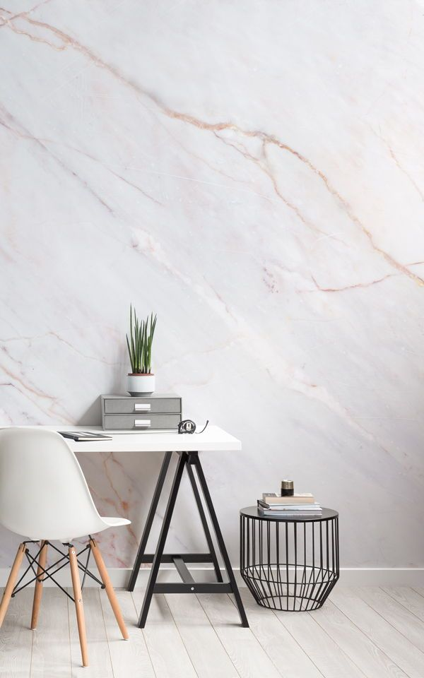 Cracked Marble Wallpaper Subtle Marble Design Muralswallpaper In 2020 Office Wallpaper Modern Wallpaper Scandinavian Style Home