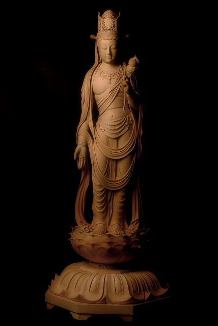 虚空蔵菩薩立像