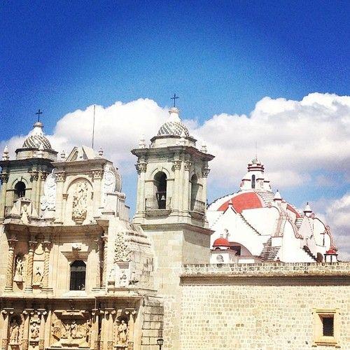 #Mexico #churches #skyline