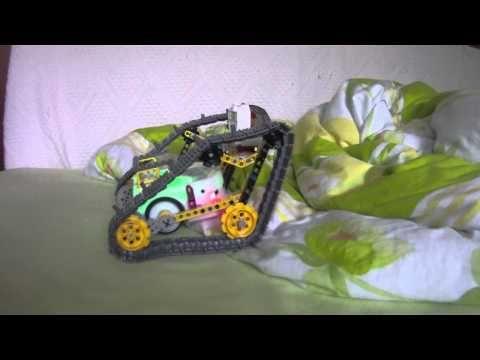 Thymio II en véhicule tout terrain / all-terrain vehicle - YouTube