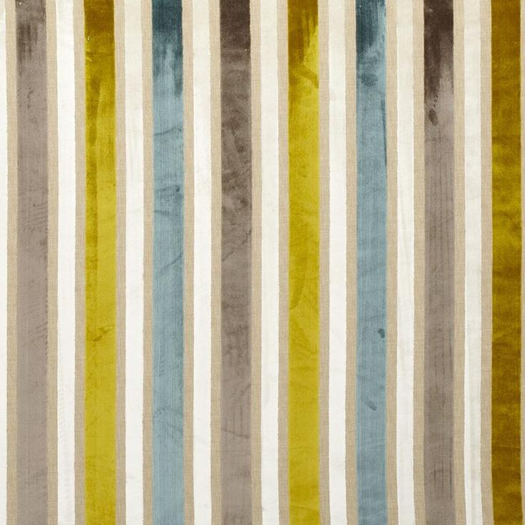 Buy John Lewis Veneto Stripe Fabric, Multi online at JohnLewis.com - John Lewis
