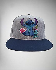 Stitch And Scrump Disney Snapback Hat