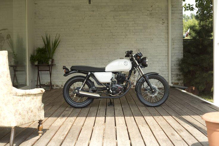30 best ogar 125 ccm images on pinterest bobbers custom. Black Bedroom Furniture Sets. Home Design Ideas