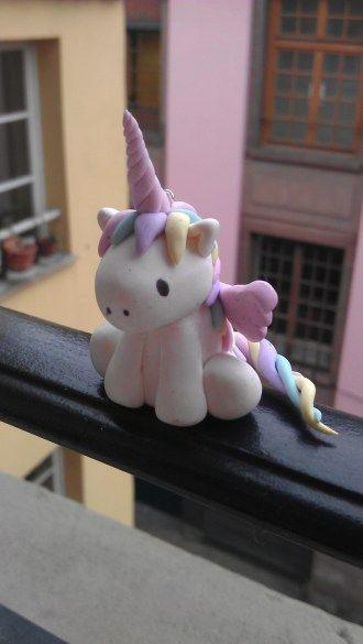 DIY polymer kawaii unicorn
