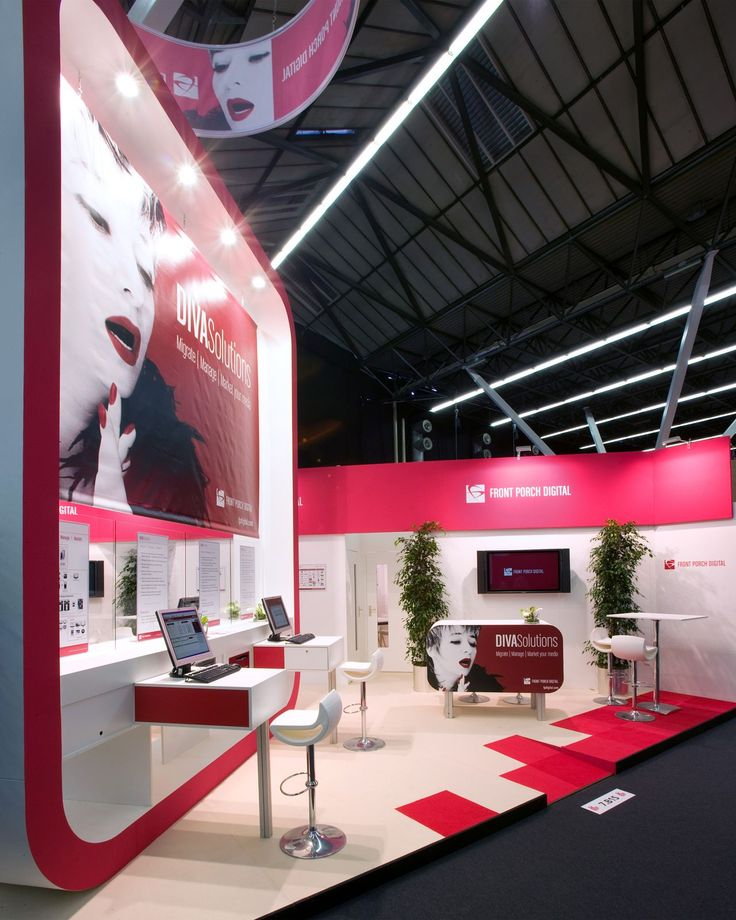 A stand we realised for Front Porch at the IBC Amsterdam.