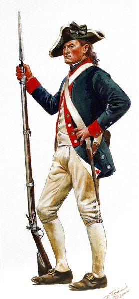 Continental Soldier 1780-1782