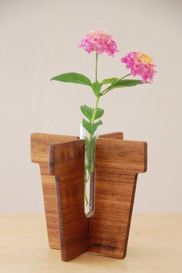 Creator SOETACRAFT Creema Bud VasesFlower VasesTest Tube