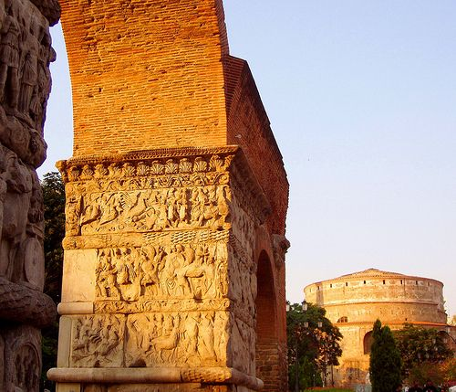 Visiting both the arc and the Rotonda of Galerius is a must for culture lovers.