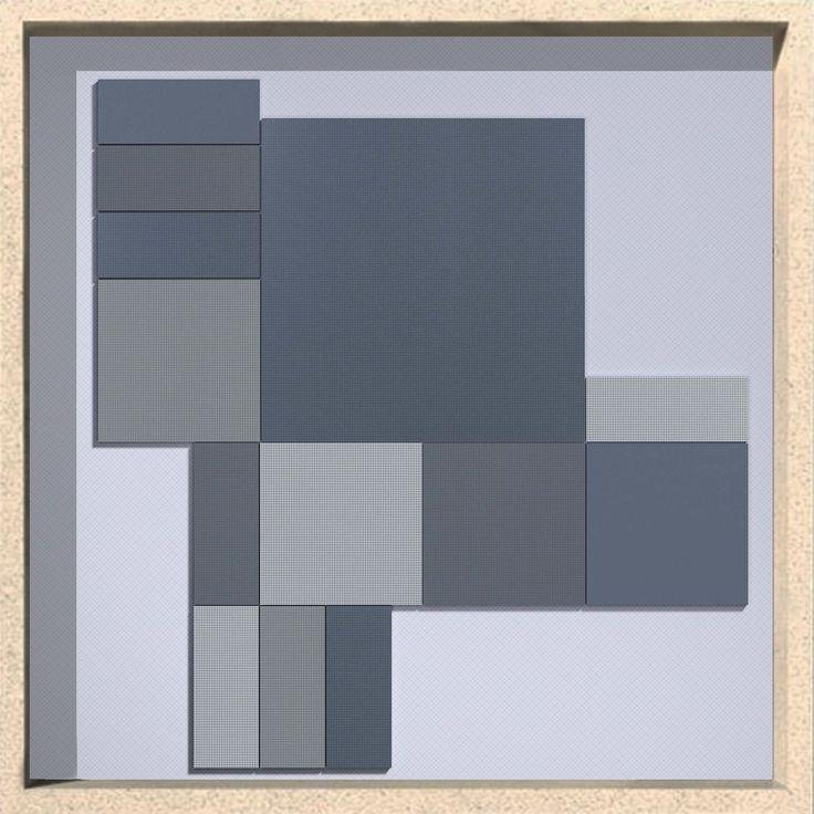 Vogue Graph: Blue Summer 2017 Discover all of 30 colors on our website and start to design with graph! www.ceramicavogue.com  #ceramica #ceramics #tiles #ceramicsofitaly #tileometry #plitka #tegels #carrielage #texture #grid #designinspiration  #design #tile #keramik #graph #millimetre #interiordesign #architecture #wall #porcelain #blackandwhite #piastrelle #interiordecor #colors #grid #gridlines #architectureporn  #archiproducts #archilovers #ceramicavogue