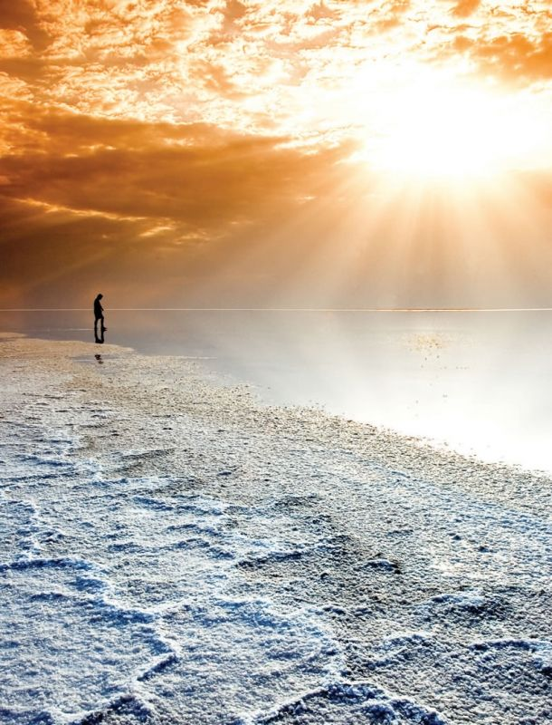 Salt Lake, Center Anatolia, Turkiye