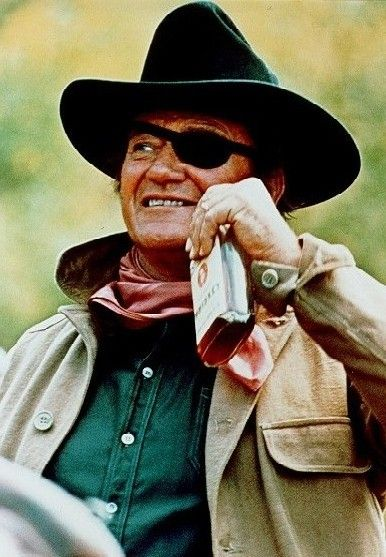 "John Wayne in ""True Grit""---my favorite movie since I was a teenager!!  I'd watch it everyday...anytime!"