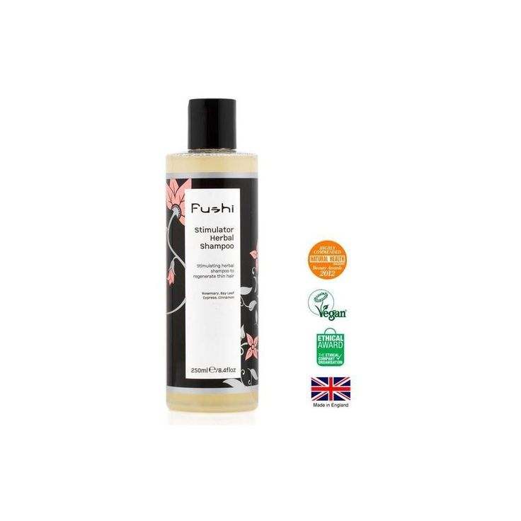 Fushi Stimulator Herbal Shampoo for Thinning Hair & Hair Loss (250ml) - Pack of 6: Amazon.co.uk: Health & Personal Care. Herbal shampoo. It's an Amazon affiliate link.