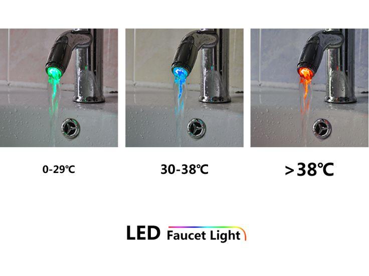 Cap de robinet cu LED http://www.gadgetworld.ro/cap-de-robinet-cu-led.html