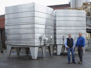 Custom #wine #tanks by @Lagardeinox for Rodney Strong Vineyard