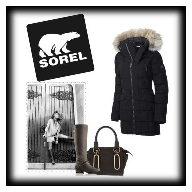 """Tame Winter with SOREL: Contest Entry"" by charmina-linda on Polyvore featuring SOREL, See by Chloé and sorelstyle"