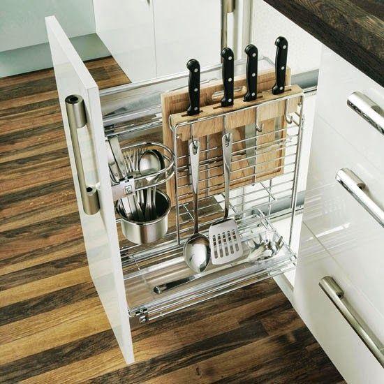 25 best ideas about cutlery storage on pinterest for Vertical silverware organizer