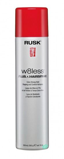 RUSK W8Less Plus Extra Strong Hold Hairspray Giveaway