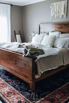 Zinus Upholstered Diamond Stitched Platform Bed The Furniture Blogger Home Bedroom Home Decor Bedroom Farmhouse Style Master Bedroom